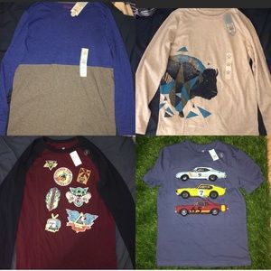 4 boys shirts brand new with tags